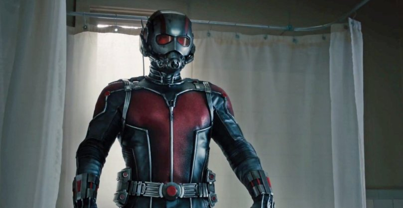 Paul Rudd stars in Ant Man