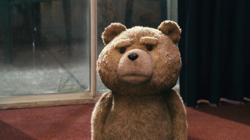 Seth MacFarlane stars in Ted