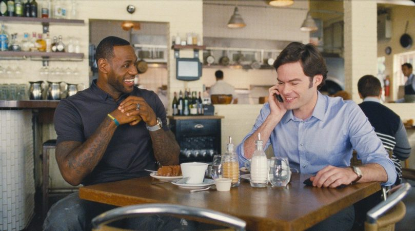 LeBron James & Bill Hader in Trainwreck