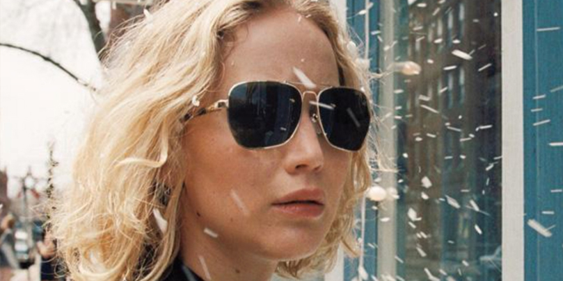 Jennifer Lawrence as the title character in Joy