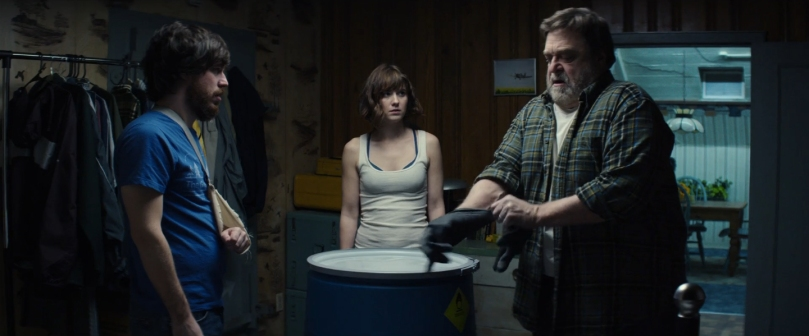 John Goodman, Mary Elizabeth Winstead & John Gallagher Jr. star in 10 Cloverfield Lane