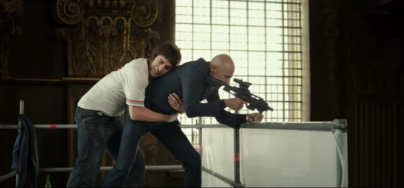 Sacha Baron Cohen & Mark Strong Star in Grimsby