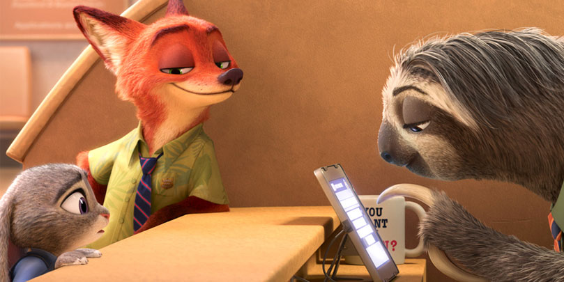 Jason Bateman and Ginnifer Goodwin star in Zootopia