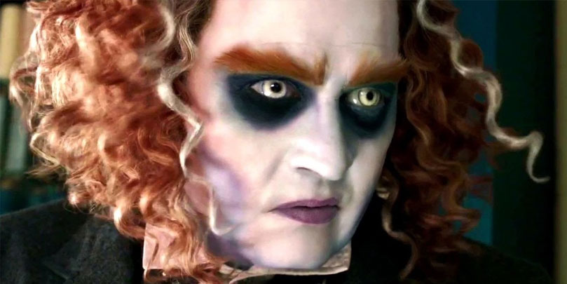 Johnny Depp stars in Alice Through the Looking Glass