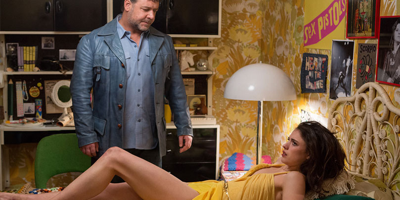Russel Crowe stars in The Nice Guys