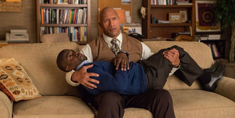 "Dwayne ""The Rock"" Johnson and Kevin Hart star in Central Intelligence"