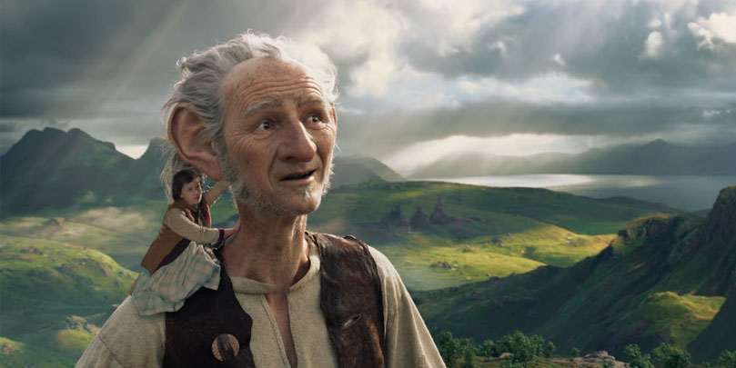 Mark Rylance stars in The BFG