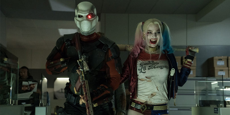 Will Smith & Margot Robbie star in Suicide Squad