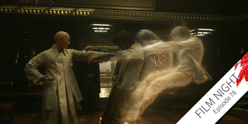 Benedict Cumberbatch & Tilda Swinton star in Doctor Strange