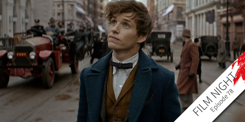 Eddie Redmayne stars in Fantastic Beasts and Where to Find Them