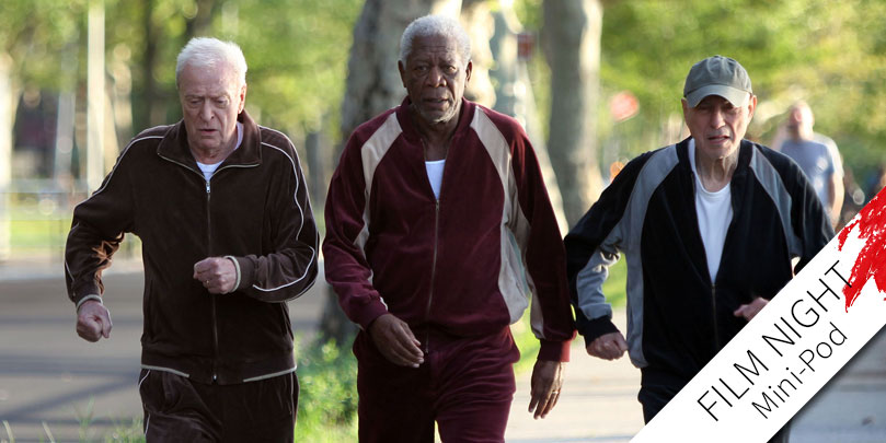 Michael Caine, Morgan Freeman & Alan Arkin star in Going in Style
