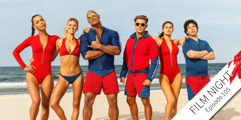 "Dwayne ""The Rock"" Johnson & Zac Efron star in Baywatch"