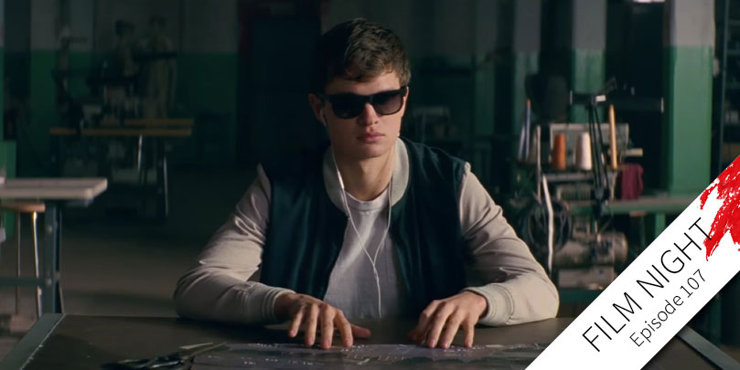 Ansel Elgort stars in Baby Driver