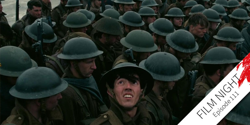 Fionn Whitehead stars in Dunkirk