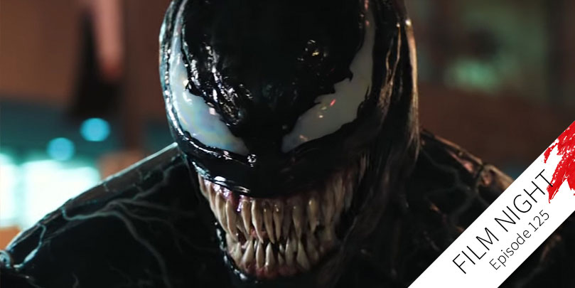 Tom Hardy stars in Venom