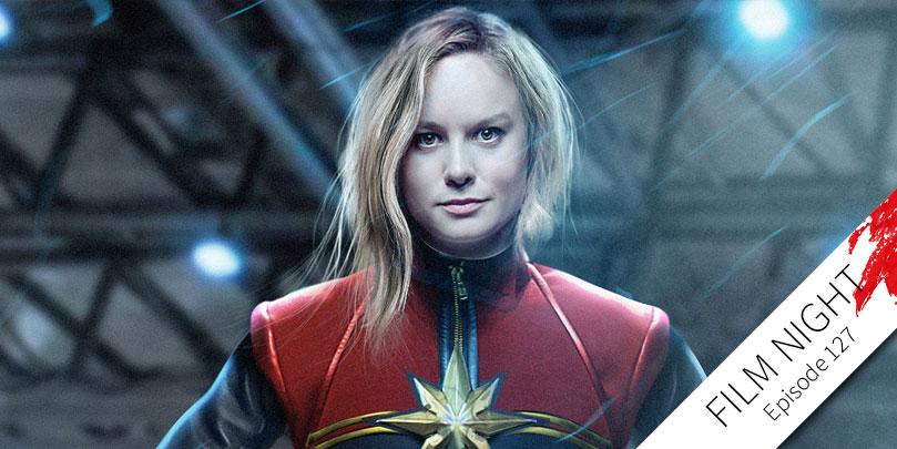 Brie Larson stars in Captain Marvel