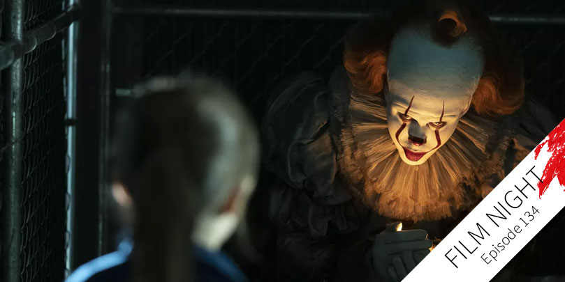 Bill Skarsgård stars in It: Chapter Two